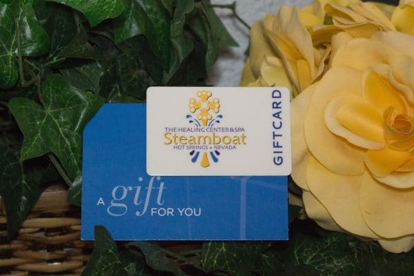 gift card at The Healing Center & Spa Steamboat Hot Springs Nevada
